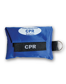 CPR Barrier Keychain with Gloves