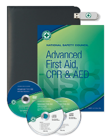 NSC Advanced FA, CPR & AED Instructor Resource Kit