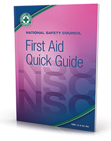 NSC First Aid Quick Guide Pk of 10