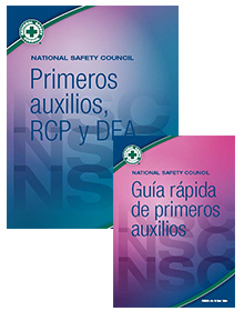 NSC FA, CPR & AED Student Workbook Pkg-Spanish