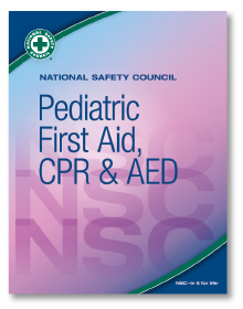NSC Pediatric FA, CPR & AED Student Workbook