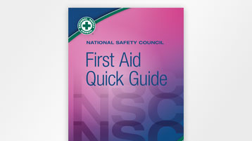 NSC First Aid Quick Guide