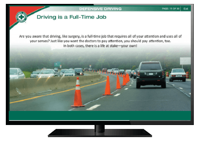 picture about Defensive Driving Course Online With Printable Certificate titled Defensive Guiding 2- and 4-hour Plans