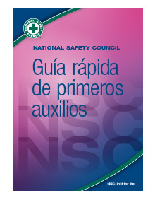 NSC First Aid Quick Guide Pk of 10-Spanish