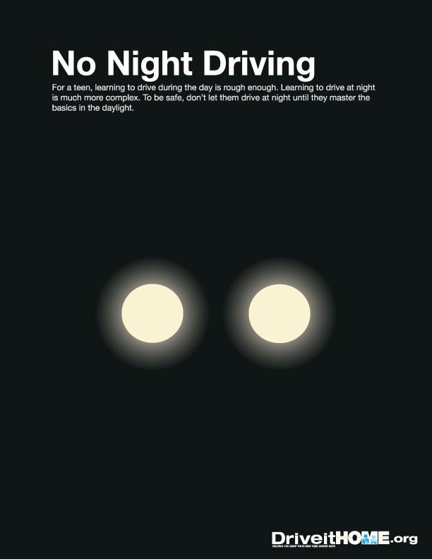 No Night Driving